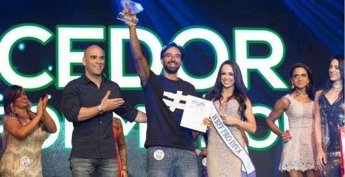 Vencedor da categora Transformation, Fabiano Lacerda Divulgação