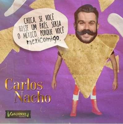 Carlos Nacho- Esse é Carlos Nacho, galanteador à moda antiga - Divulgação