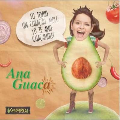 Ana Guaca - Uma chica de fibra - Divulgação