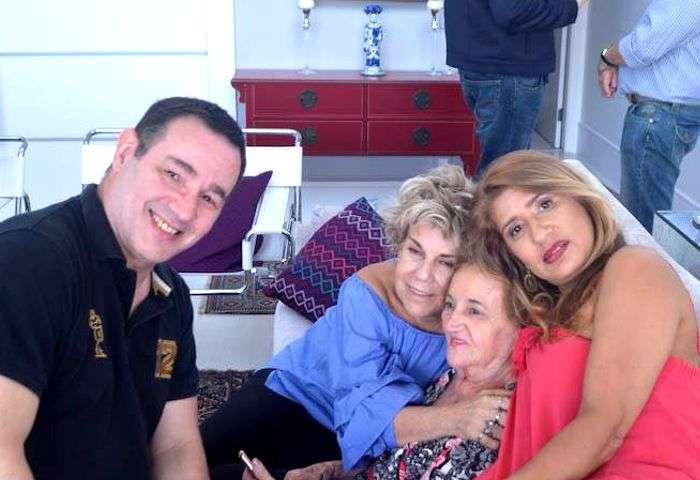 Reinaldo Dutra, Janinha Godoy, Tereza Ribeiro e Jô Ribeiro - Foto: Alvaro Talaia