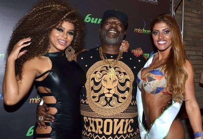 Erika Canela, Mc Catra e Rosie Oliveira - Foto: J.Domingos