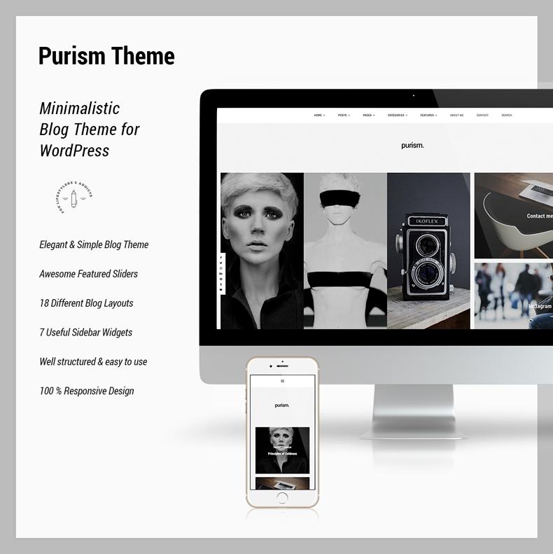 Purism - WordPress Blog Theme - 5