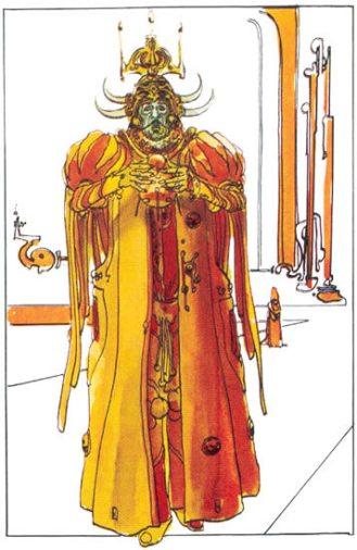 The Emperor of the Galaxy Padishah Shaddam IV