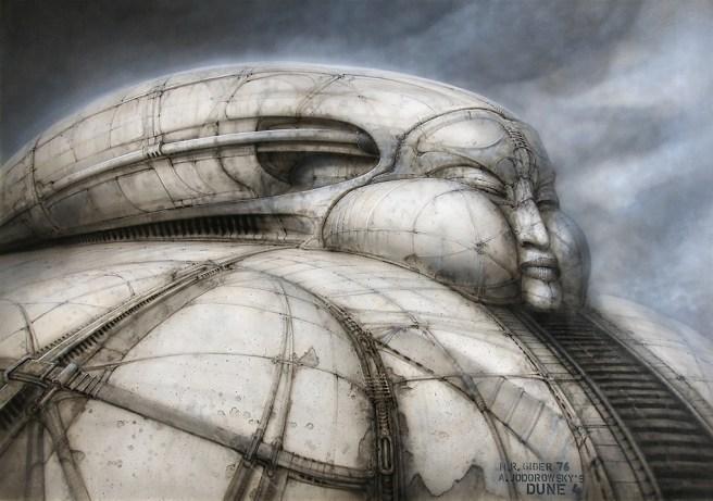 Artwork by H.R. Giger