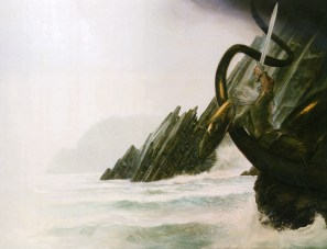 john_howe_beowulf_beowulf and the dragon2