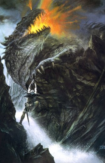 Turambar and Glaurung