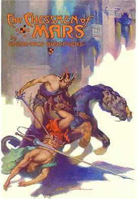 The Chessmen of Mars (1922)