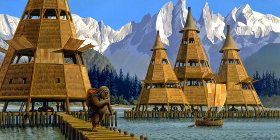 ralph-mcquarrie-starwars-ewok-lake-city