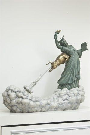 statue-liberte-taureau-chen-wenling-2