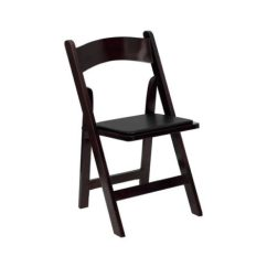 Folding Chair Rental Chicago White Wedding Covers Uk Garden Chairs Mahogany Egpres Wood Suburbs