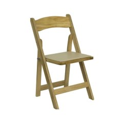 Folding Chair Rental Chicago Patio With Ottoman Canada Garden Chairs Natural Wood Suburbs