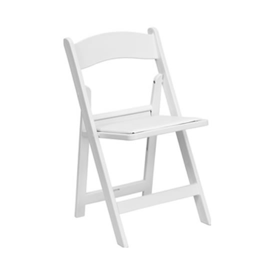 folding chair rental chicago fishing rod gimbal garden chairs white egpres resin wood suburbs