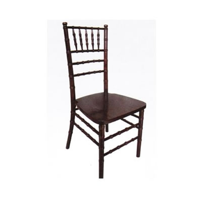 chair rental chicago plastic high back patio chairs chocolate brown chiavari