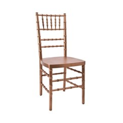 Gold Chair Covers To Rent T Cushion Rose Chiavari Copper Rental