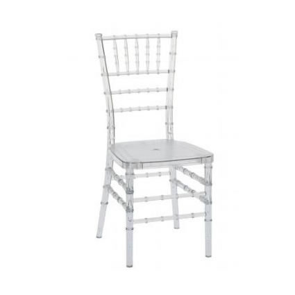 clear chiavari chairs target threshold stack sling chair gray acrylic wedding reception ice crystal rent chicago