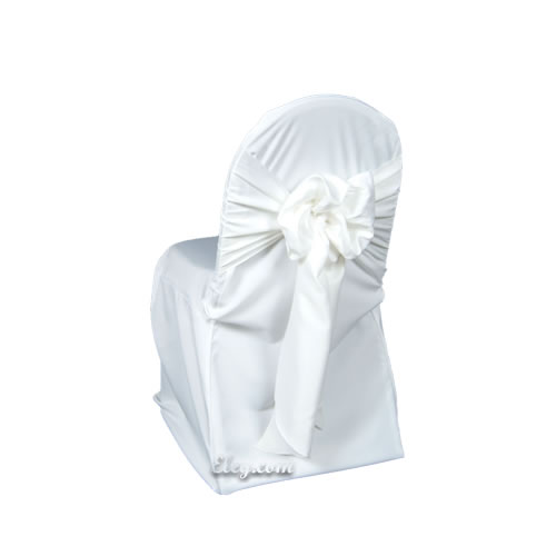 cheap white chair covers comfy rocking satin lamour cover banquet