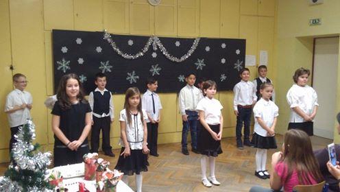 A 2.a osztályosok karácsonyi ünnepsége