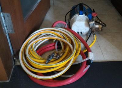Pompa Steam Perawatan pada AC Split