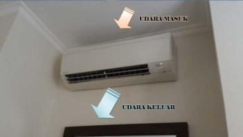 Sirkulasi Udara pada Indoor AC Split