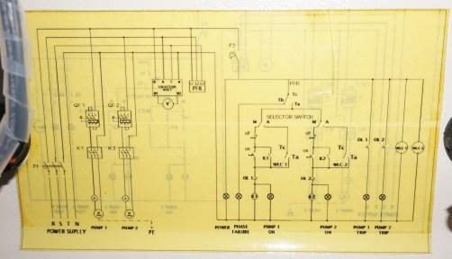 Rangkaian Kontrol Pompa Air Kotor
