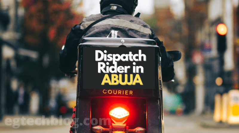 Top 10 Dispatch Rider and Logistics in Abuja