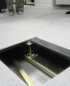 電算機室床下