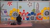 Mural SF Transit Center Opening Weekend