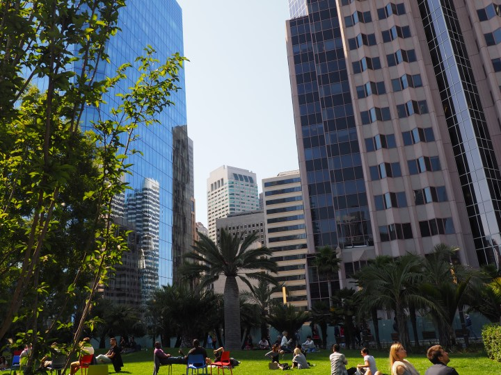 SF Transit Center Park, Opening Weekend