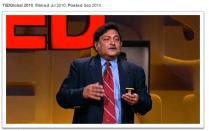TED Talk by Sugata mitra
