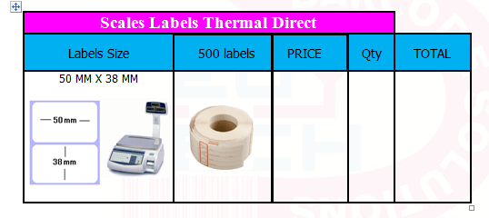 SCALES BARCODE LABELS (2)