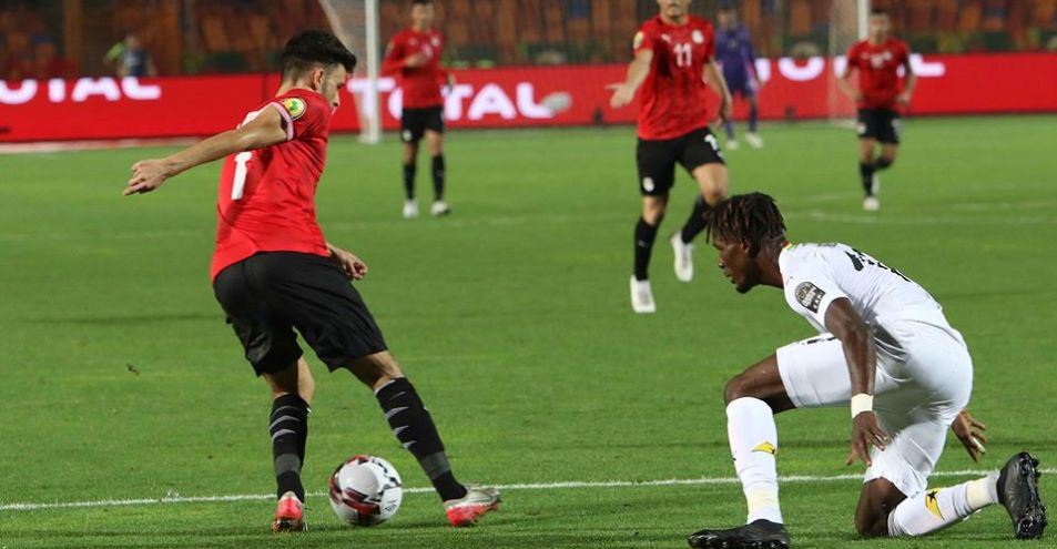 شاهد اهداف مباراة منتخب مصر الاولمبي والكاميرون اليوم 2 1 فى