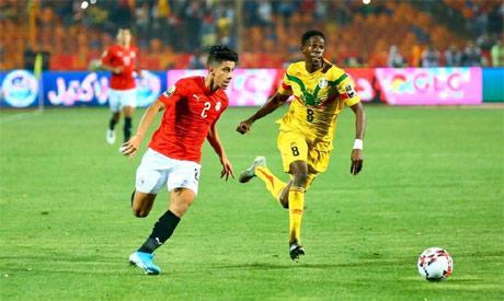 شاهد اهداف مباراة مصر الاولمبي وغانا اليوم 3 2 فى بطولة امم