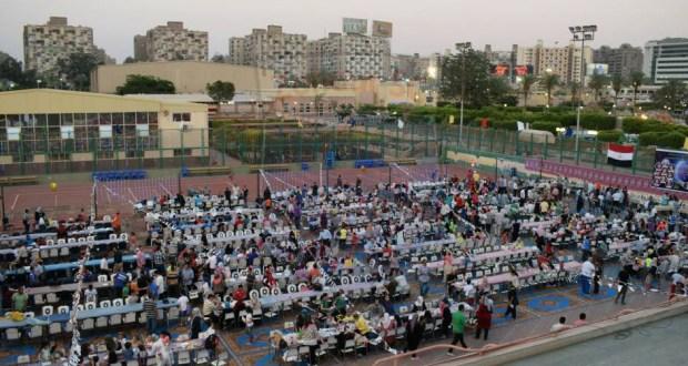 حفل إفطار اللجنة الرياضية لأبطال نادى الزهور
