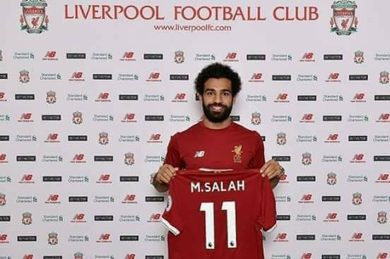 محمد صلاح لاعب نادى ليفربول 2017