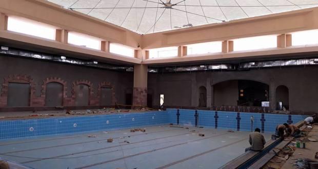 حمام السباحة المغطى نادى الزهور فرع التجمع الخامس 2