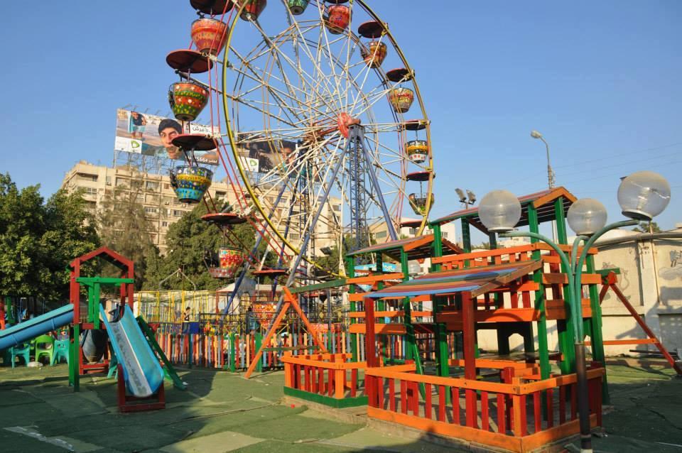 نادى النصر - منطقة العاب الاطفال