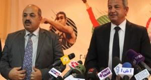 هشام حطب و وزير الرياضة