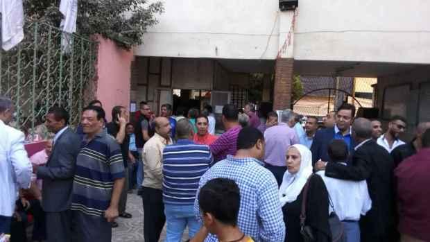 انتخابات مركز شباب امبابة