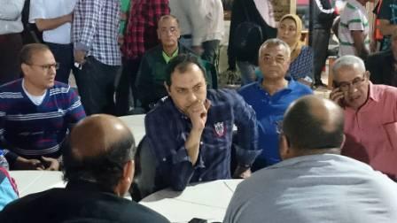 عمرو عبد الحق مرشح رئيس نادى النصر