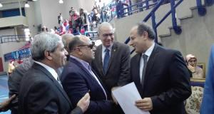 رئيس نادى الاوليمى ومحافظ الاسكندرية