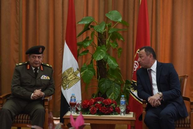 الاهلى و وزارة الدفاع