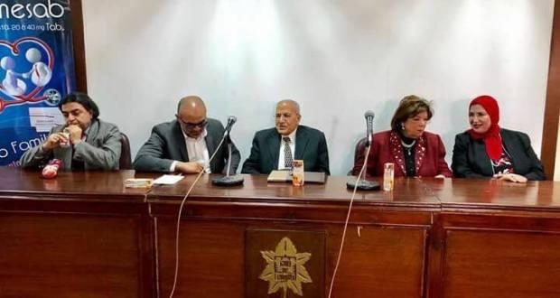 مؤتمر لجنة الصحة والسكان فى نادى الزهور