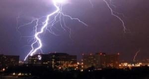 دعاء الرعد والبرق والمطر
