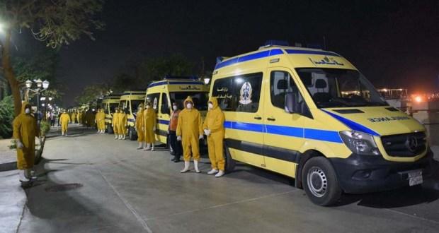 الفرق الطبية في الاقصر لمواجهة فيروس كورونا