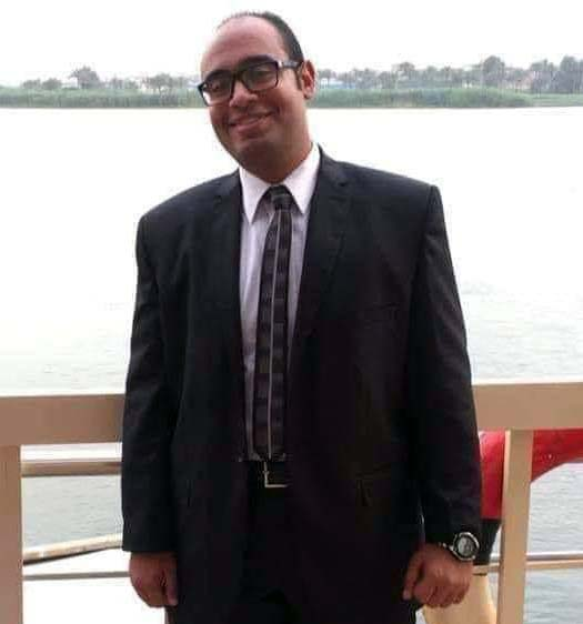 الصيدلي محمد علي المتوفي في مستشفي المقاولين بعد إصابته بفيروس كورونا