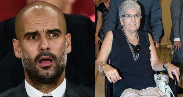 وفاة والدة بيب جوارديولا