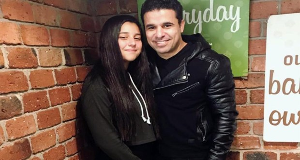 خالد الغندور وابنته