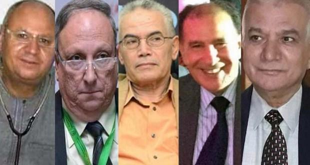 وفاة 5 أطباء بفيروس كورونا