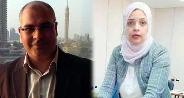 الدكتورة مي عمرو والدكتور أيمن حسين ناصف