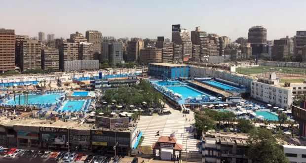 حمامات سباحة نادي الزمالك
